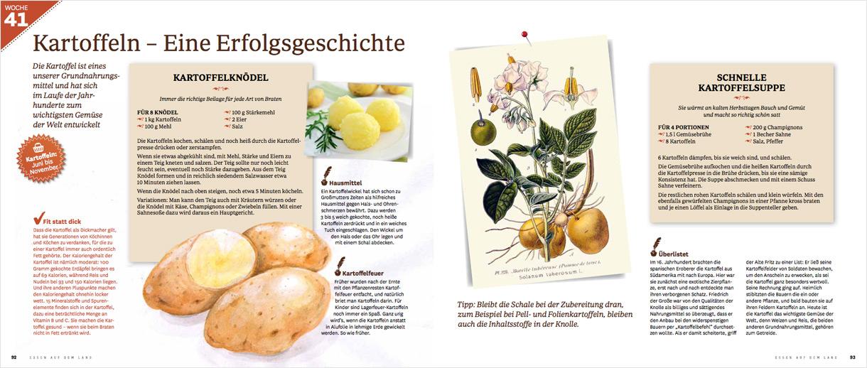 """Auszug aus """"Essen auf dem Land"""""""