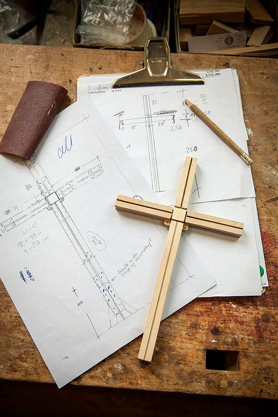 Gipfelkreuz – Planung des Gipfelkreuzes