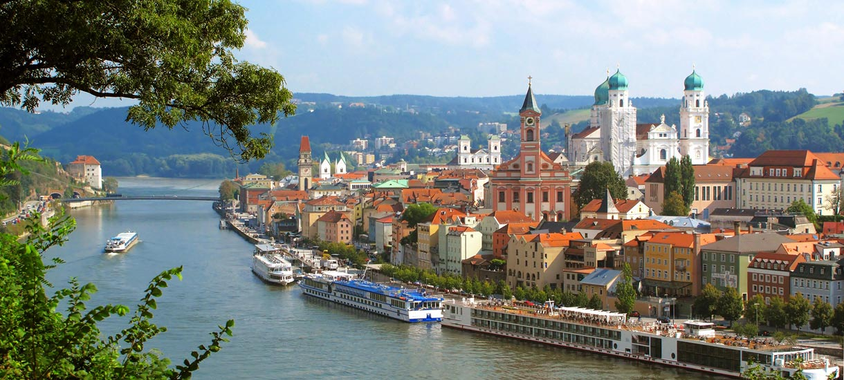 Ansicht von Passau