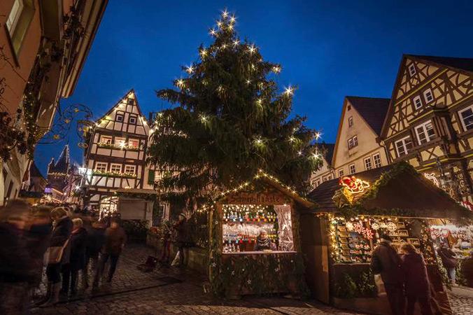 Altdeutscher Weihnachtsmarkt Bad Wimpfen (Foto: Stadt Bad Wimpfen)