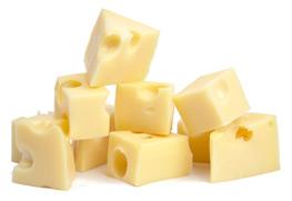Käsefondue – Käsestücke