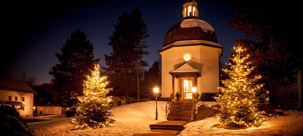Die Stille-Nacht-Kapelle in Oberndorf