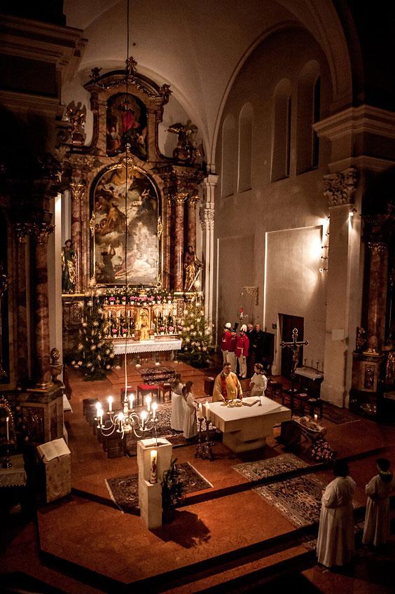 Weihnachtsmesse in Oberndorf