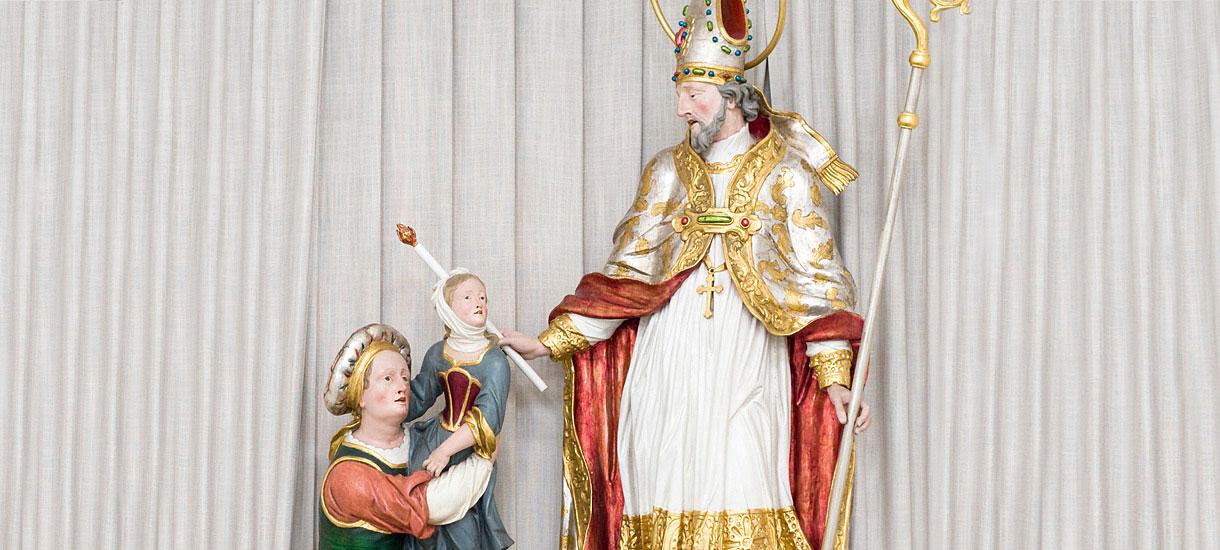 Statue Heiliger Blasius