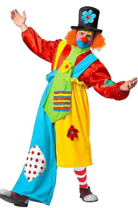 Verkleidungen im Fasching - Clown