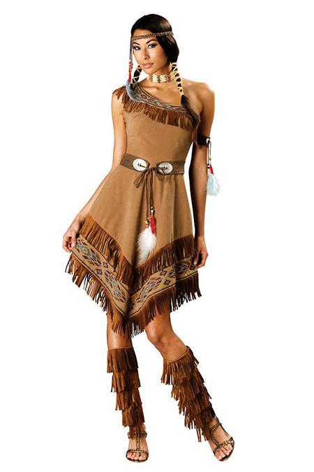 Verkleidung im Fasching - Indianer