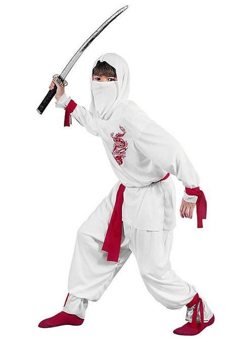 Verkleidung im Fasching - Ninja