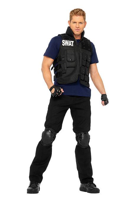 Verkleidung im Fasching - SWAT-Agent