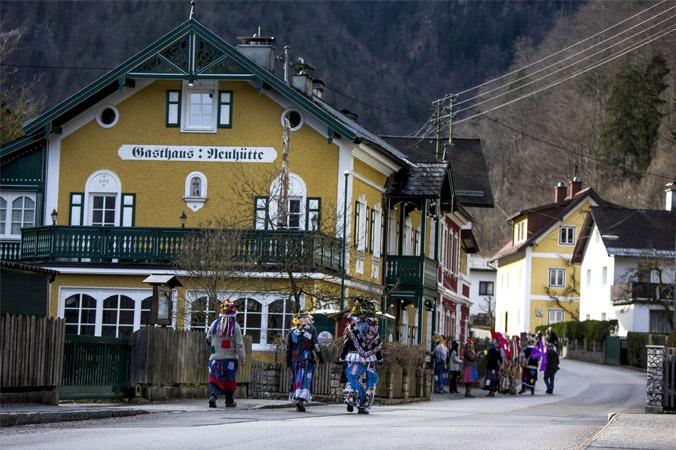 Fetzenfasching Ebensee – Vorbereitungen für den Fetzenzug