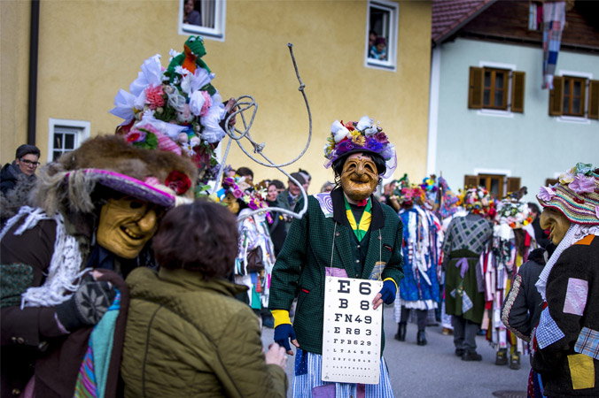 Fetzenfasching Ebensee - Tafel