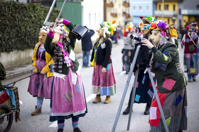 Fetzenfasching Ebensee - Unterhaltung der Zuschauer