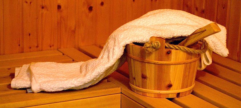 Föhn: Sauna