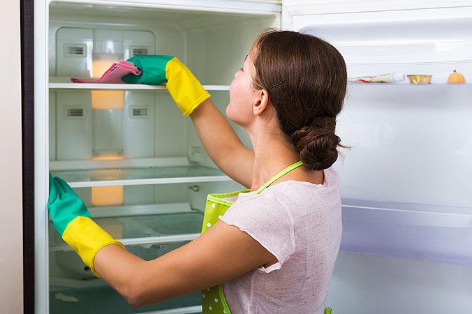 Frühjahrsputz Teil 1: Die Küche - Kühlschrank reinigen