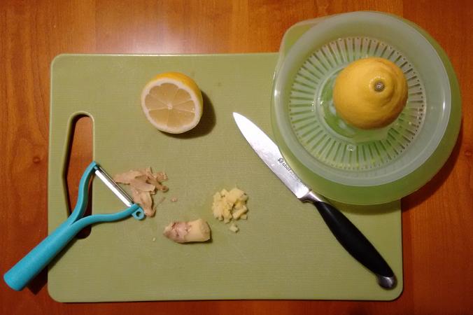 Hustenbonbons selber machen: Zitrone und Ingwer