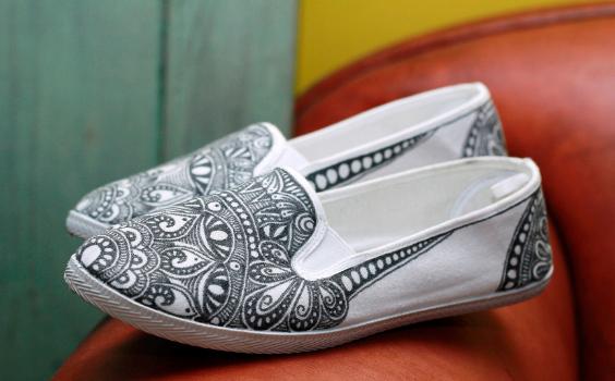 Tanglen-Schuhe