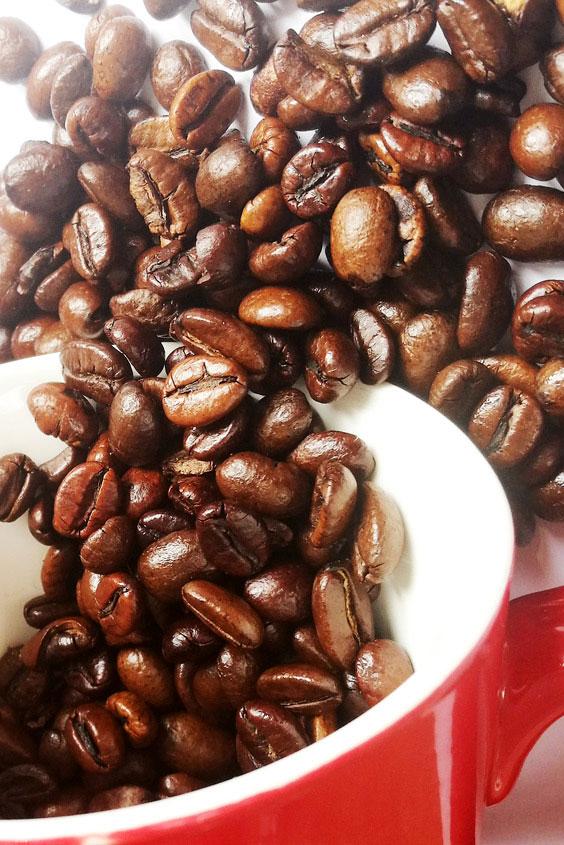 Was hilft gegen Kater - Kaffebohnen