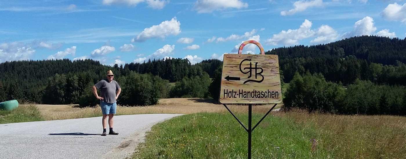 Handtaschen aus Holz - Taschentischler Gerhard Hackl