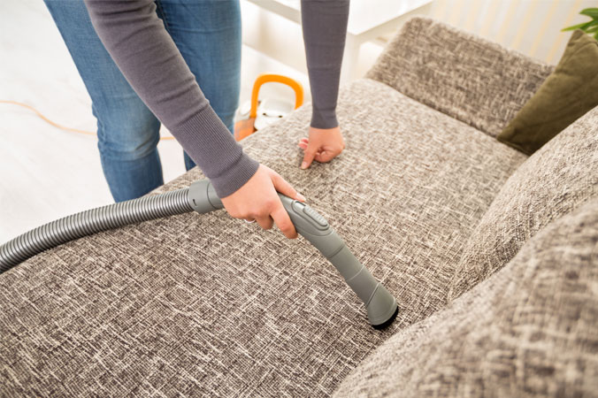 Frühjahrsputz Teil 3: Wohnräume - Polster reinigen