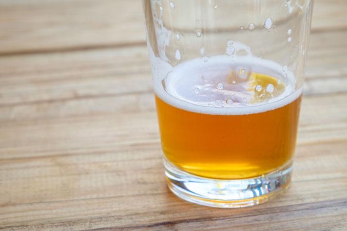 Natürlicher Dünger - Bier