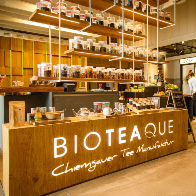 Chiemgauer Teemanufaktur – Verkaufsstelle