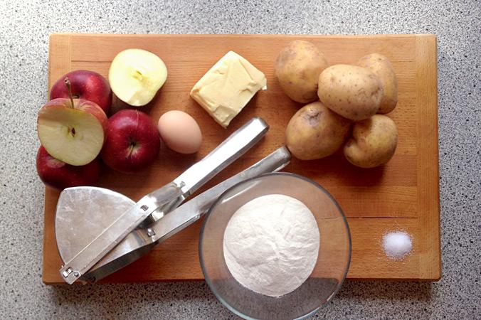 Apfelmaultaschen – Das sind die Zutaten
