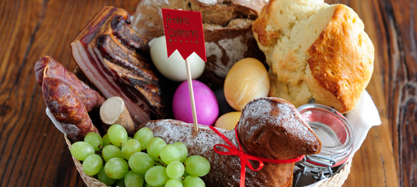 Osterbräuche im Alpenland – Speisenweihe
