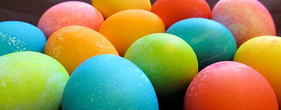 Ostereier verwerten – bunt bemalte Eier