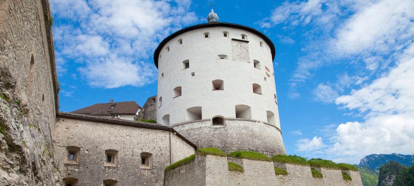 Ostereiersuche Festung Kufstein