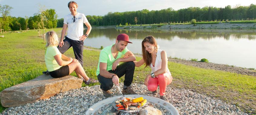 Die schönsten Grillplätze: Grillplatz im Naherholungsgebiet Auwiesen