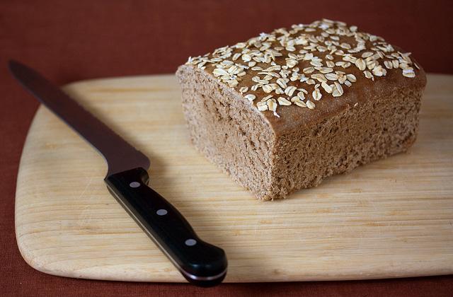 Brot einfrieren: Roggenbrot