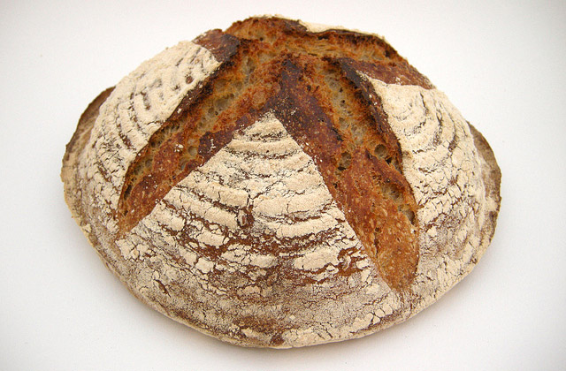 Brot einfrieren: Roggenmischbrot