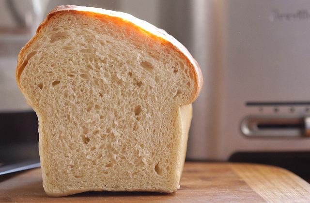 Brot einfrieren: Weizenbrot