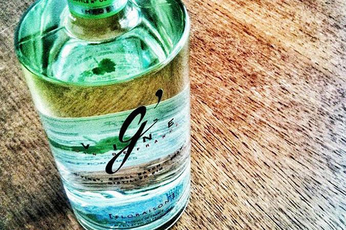 G'Vine ein Crossover-Gin, destilliert aus Wein