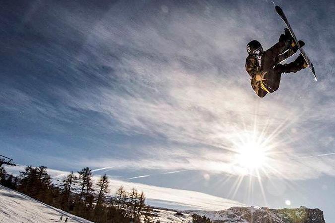 Veranstaltungstipps März: Slopestyle-Snowboarding auf der Seiser Alm