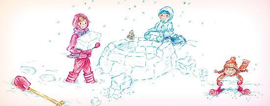 kinderspiele fuer herbst winter iglu bauen 550x216